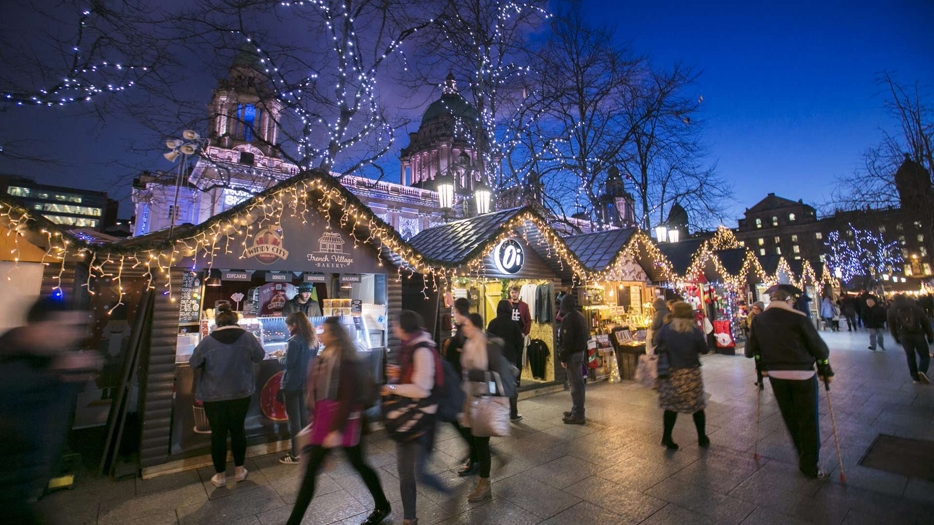 Stuff Your Face at the Belfast Christmas Market in Northern Ireland
